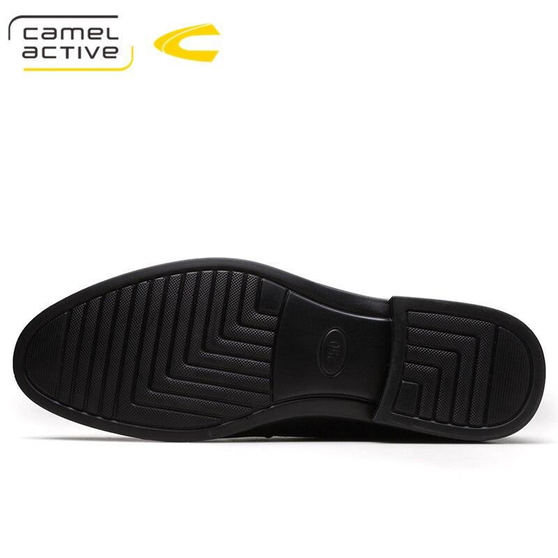 Printemps En Vente Véritable Sapatos Automne Trous Noir Cuir Active Masculinos Camel Conception marron Chaude Respirant Hommes Affaires De Chaussures Ynfq7fOwE