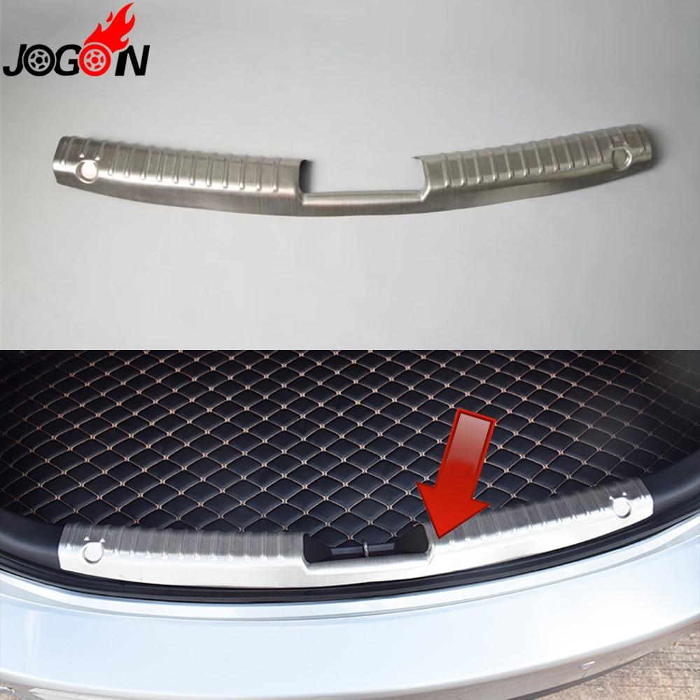 For Mazda 6 Mazda6 M6 Atenza Interior Rear Sill Trim Trunk Bumper Plate Cover