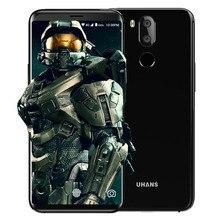 """D'origine UHANS I8 4 GB 64 GB Smartphone 5.7 """"18:9 Lunette-moins MTK6750T Octa Core 3500 mAh 16MP Android 7.0 Visage ID 4G Mobile Téléphone"""
