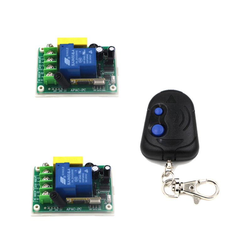 Wireless Power Switch 220V 30A RF 3000W 100M and Controller System For Smart/Intelligent Home light/LED 4366 2 working ways rf wireless intelligent