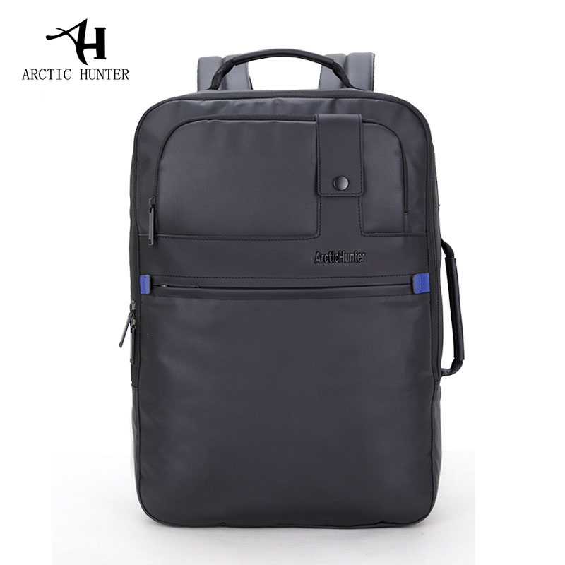 ARCTIC HUNTER Fashion European and American Style Men's Large-Capacity Notebook Bag Waterproof School Backpack Bag For College sosw fashion anime theme death note cosplay notebook new school large writing journal 20 5cm 14 5cm