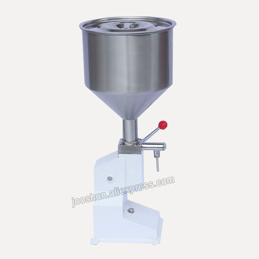 NEW Stainless Steel Manual Cream Paste 5-50ml Bottle Filling Liquid Machine for Perfume, Cream, Shampoo, Cosmetic, Liquid Filler high quality pneumatic cosmetic paste liquid filling machine cream filler 5 50ml