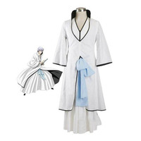 BOOCRE Anime BLEACH Cosplay Ichimaru Gin Costumes Sets Halloween Role Playing Clothing Unisex Adult