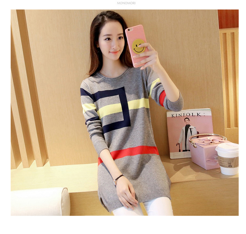 18 DRL sweater women Basic woman sweater pullovers long sleeve Jumper Long Sleeve Sweaters Autumn Winter pull femme hiver 11