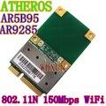 Wi fi sem fio metade Mini PCI-E Card Atheros AR5B95 AR9285 BGN PCI-E 802.11b / g / n wi fi rede Express Card