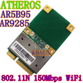 Wifi Wireless media Mini PCI-E Card Atheros AR5B95 AR9285 BGN PCI-E 802.11b / g / n red WIFI tarjetas Express