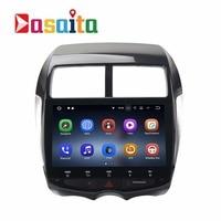 1 din Android 8.1 Car GPS Radio for Mitsubishi ASX Citroen C4 peugeot 4008 navi multimedia player 2Gb+16Gb HDMI output