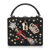 Fashion Designer Party Purse Ladies Shoulder Bag Clutch Evening Bag Mini Tote Handbags C1350