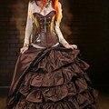 Corzzet Victorian Leather Zipper Steampunk Overbust Corset Steel Boned Waist Slimming Push Up Bustier Sexy Gothic Women Clothing