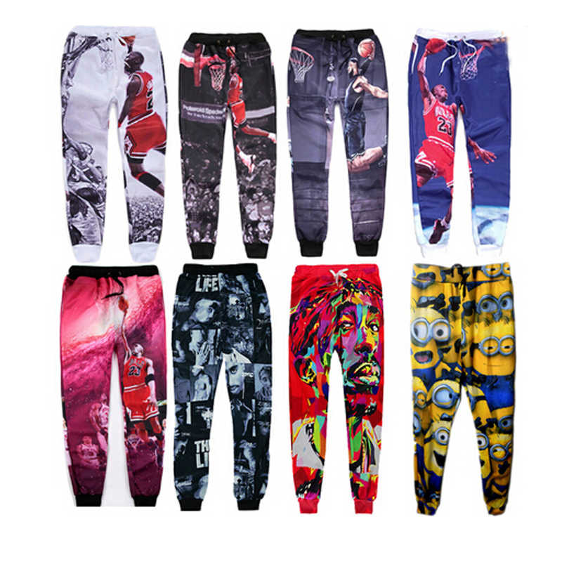 2337a6dd2d0b44 ... 2019 Jordan Galaxy Skull Space Casual Joggers Pants 3d Printed  Sweatpants For Men