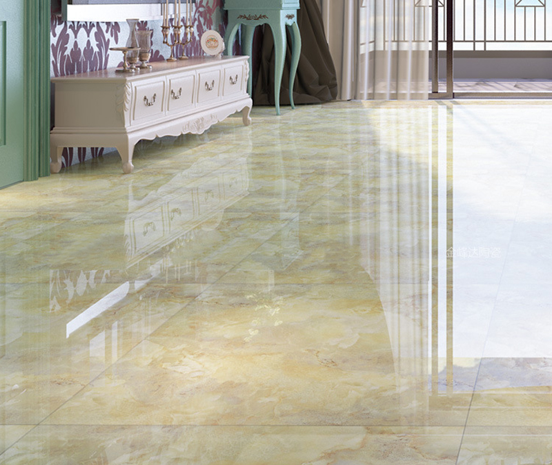 Foshan Ceramic Tiles Gold Microcrystalline Stone Floor Tiles 800x800