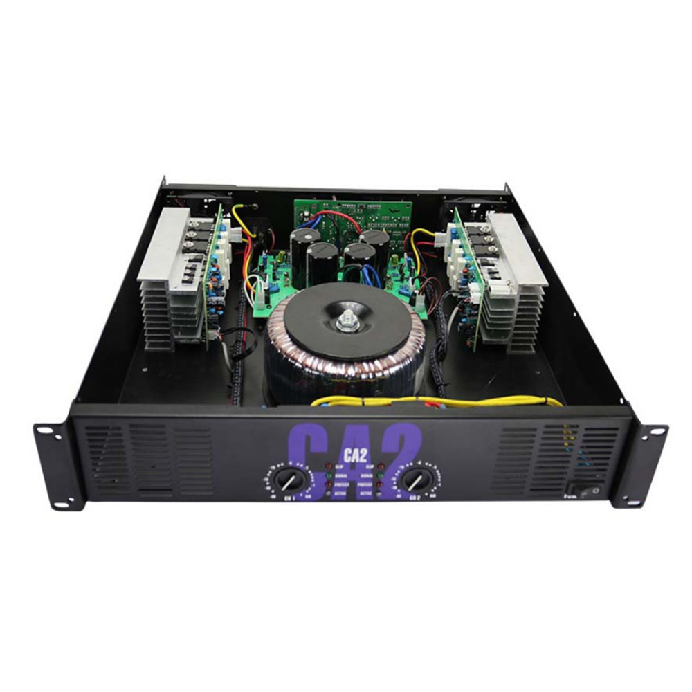 Image 4 - Amplificador de potência profissional de alta potência ca2 fase  traseira pura 250 w amplificador de potência de áudio ktv fase  amplificador de potência 2uÁudio p/ palco