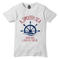 Skillful Sailor Funny Mens Tshirt Sailing Royal Navy Sail T Shirt Mens Boat 127 2019 fashion t shirt Cheap wholesale tees