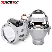 2pcs 3.0 inch Car Headlight HID bi xenon lens For Hella 5 Projector Lens Replace Single Xenon Headlamp Retrofit D1S D2S D3S D4S