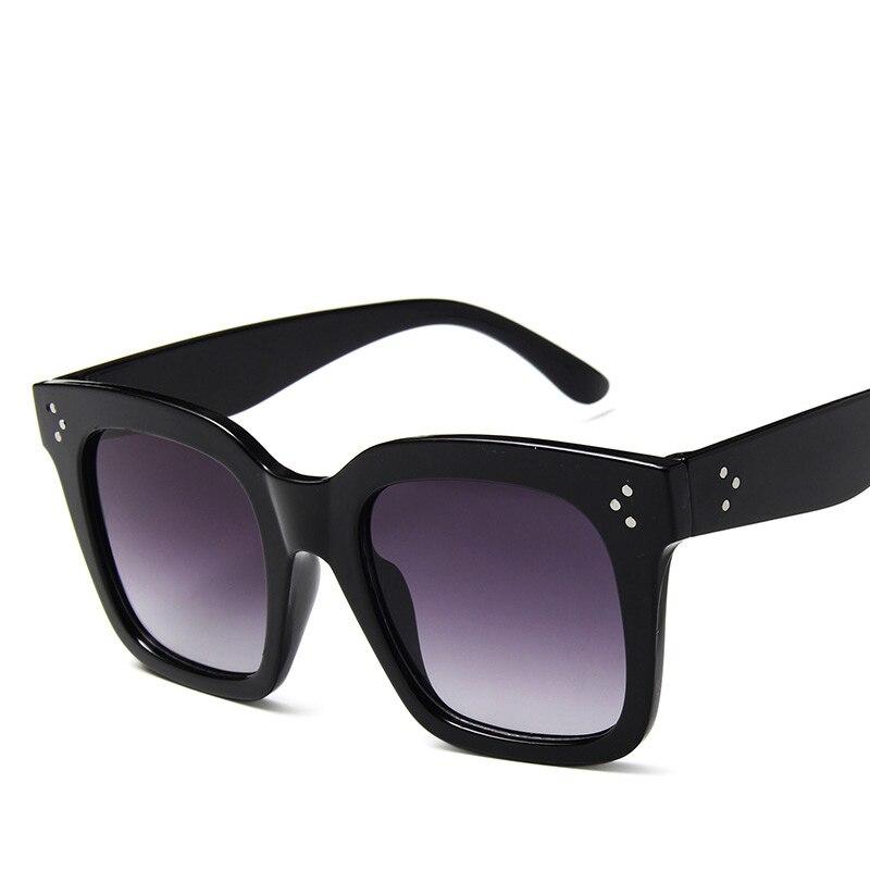 Retro lady sunglasses brand for women trend big frame leopard color glasses outdoor Square border popular multicolor famous