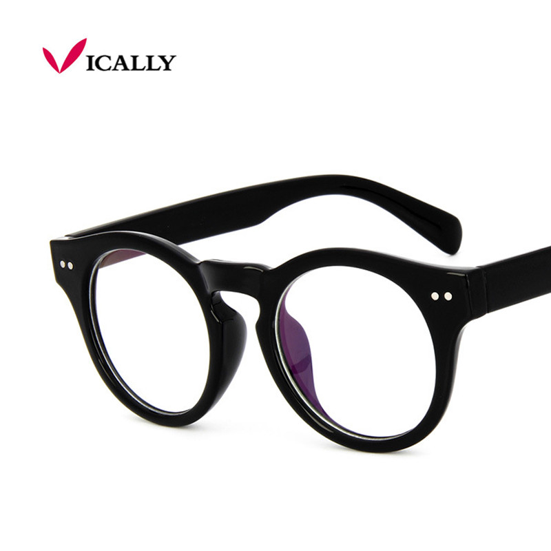 Vendita retro vintage rotondo vetri ottici cornice trasparente occhiali  computer uomini donne oculos de grau miopia 0fd0069fe6