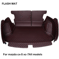 custom made Fully surrounded Car trunk mat for mazda cx5 2018 mazda cx 7 mazda 3 bk Car accessories