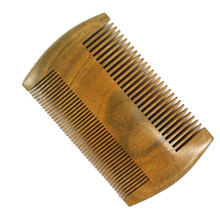 Natural Green Sandalwood Super Narrow Tooth Wood Combs No static Pocket Comb Hair Styling Tool -15