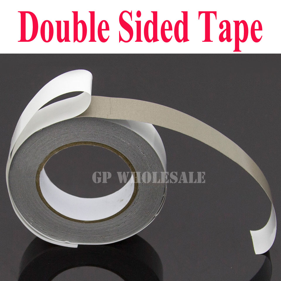 1x 30mm*20M double Sided Adhesive Sticky Conductive Fabric Cloth Tape for Cable Wrap Laptop/Phone EMI Shielding 25mm 20m single side adhesive silver conductive fabric cloth tape for pc phone lcd cable emi shielding keyboard repair