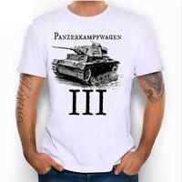 أحدث تصميم الإفراج الصيف قميصا بانزر kampfwagen طباعة عالية الجودة خزان المشجعين الجدة تيز