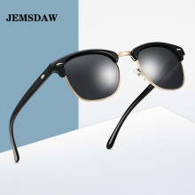 JEMSDAW Polarized Sunglasses Classic European and American Mens Trend Women Drive SunglassesUV400