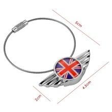 1 stück Edelstahl Schlüssel Kette Keychain Schlüssel Ring Schlüsselring Für Mini Cooper JCW One S Clubman Countryman R55 R56 r60 R61 F55 F56 F60