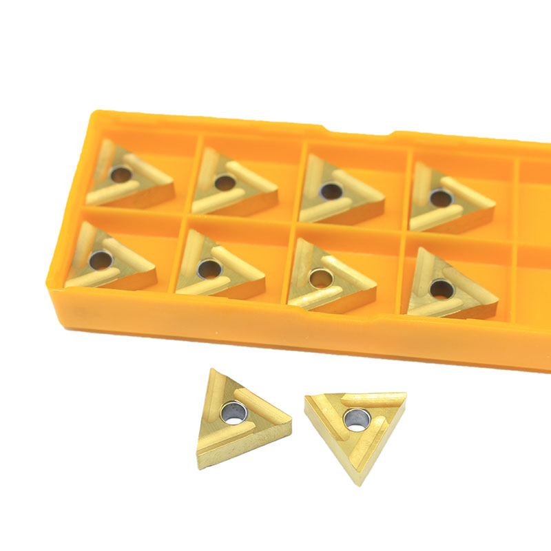 10PCS  TNMG160404 R External Turning Tools Carbide Insert Lathe Cutter Tool Tokarnyy Turning Insert