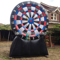 Free shipping ! Free Pump! 2m/3m/4m/5m/6m Super blue Inflatable Dart Board,inflatable soccer dart board games,outdoor play