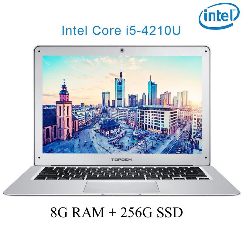 """ram 256g P7-04 8G RAM 256G SSD i5 4210U 14"""" Untral-דק מחשב שולחני מחשב נייד מחברת Gaming (1)"""