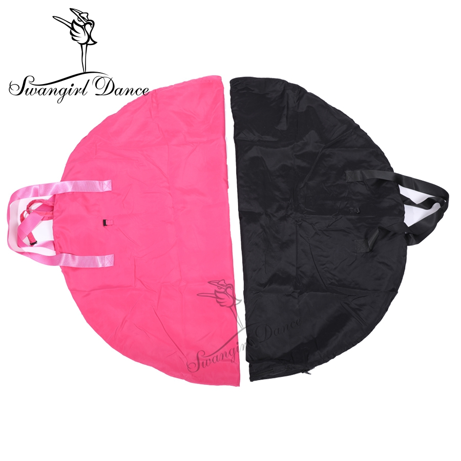 rose red Ballet Tutu Bag;grey Ballet Professional Dance Receive Package;black Dance Tutu Bag AS8630