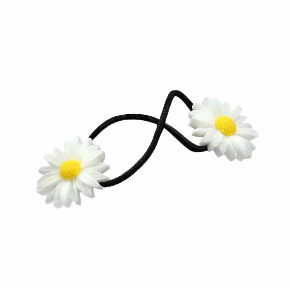 Fashion Girl Fresh Daisy Flower Hairpin Headwear Barrettes Hair