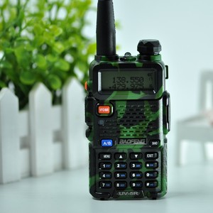 Image 3 - Baofeng UV 5R walkie talkie radio Camou Dual Band Portable Ham Transceiver UV5R Handheld Toky woky use for mountain and ocean