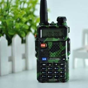 Image 3 - Baofeng UV 5R walkie talkie radio Camou Dual Band Tragbare Ham Transceiver UV5R Handheld Toky woky verwenden für berg und ozean