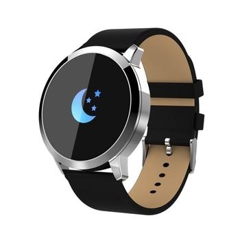 Haweel Smart Watch Blood Pressure Heart Rate Oxygen 0.95 inch OLED Remote Camera  Blood Oxygen Smart Wrist Watch For IOS Adz