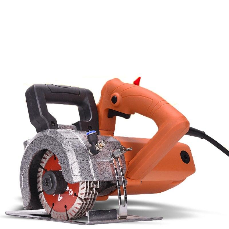 Elektrische Wand Chaser Nut Schneiden Maschine schlitzen maschine 9000 RPM 125 MM 220 V