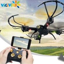 D61 Мультикоптер Дрон FPV WI-FI Mini дроны 6 оси 2.4 ГГц 4CH Дистанционное управление вертолетом Игрушечные лошадки RC Helikopter Quadcopter без камера