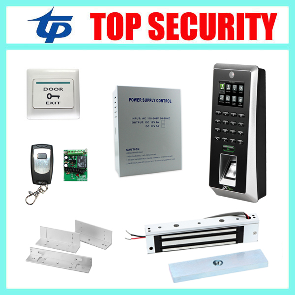 ZK F21 fingerprint door access control system with camera optional RFID card reader DIY biometric fingerprint access controller biometric fingerprint door access control system with rfid card reader tcp ip usb color screen fingerprint access controller