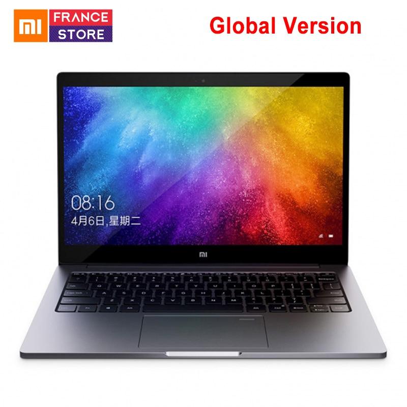 Version globale Xiaomi Notebook Air 13.3 Quad-Core édition améliorée reconnaissance d'empreintes digitales Intel Core i5 8250U 8 GB 256 GB ordinateur portable