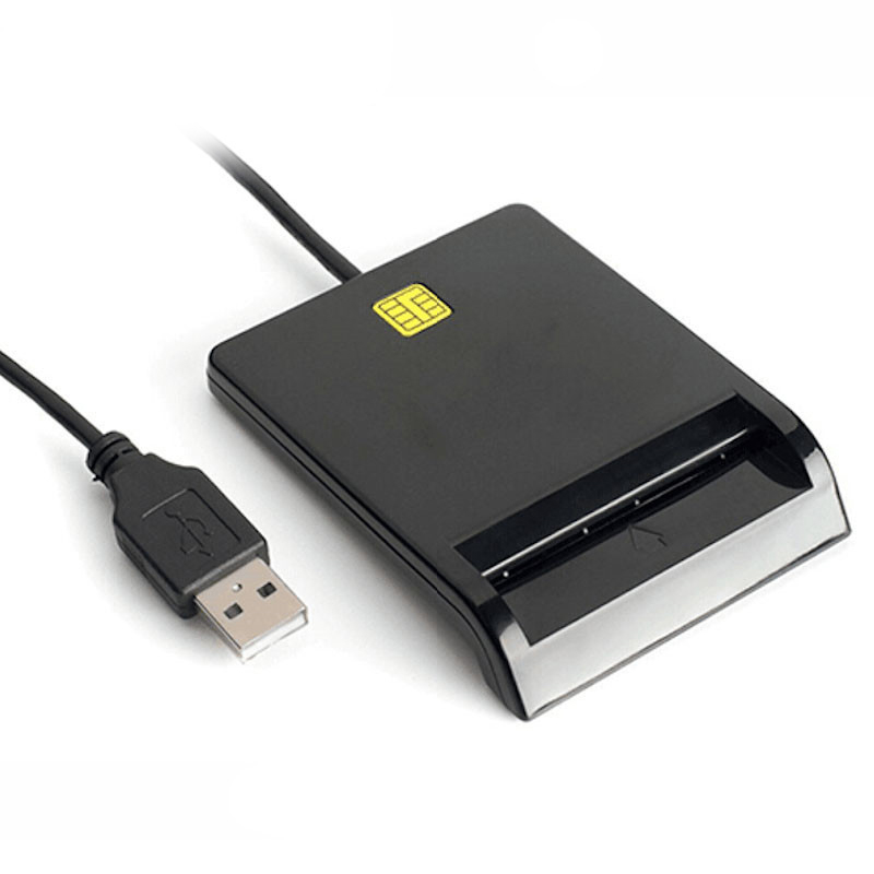 New Universal Portable Smart Card Reader For Bank Card Tax Card ID CAC DNIE ATM IC SIM Card Reader For Android Phones And Tablet