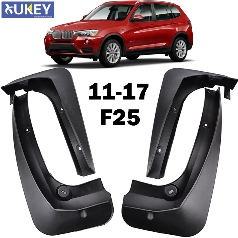 FIT FOR BMW X3 F25 2011 2017 MOLDED MUDFLAPS MUD FLAP SPLASH GUARD MUDGUARDS FRONT REAR