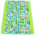 Niños Lego Road Track Children Play Mat Pad Alfombra Del Coche Grande 2 M x 1.6 M + Bolsa de Transporte