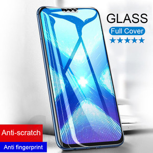 Image 1 - 9D Tempered Glass on the For Huawei Honor 8X 8C 8A 9i 10i 20i V20 V10 V9 Play Note 10 Magic 2 Screen Protector Protective Film