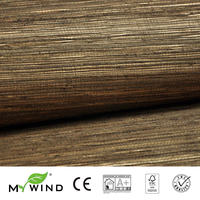 2019 MY WIND Grasscloth Wallpaper sea grass 3D wallpapers designs curtains murals roll marble custom raw jute wall paper