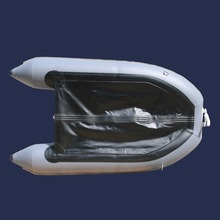GTS230 Factory Direct Sale 2 People Aluminum Floor  Rubber Fishing Boat  for sale