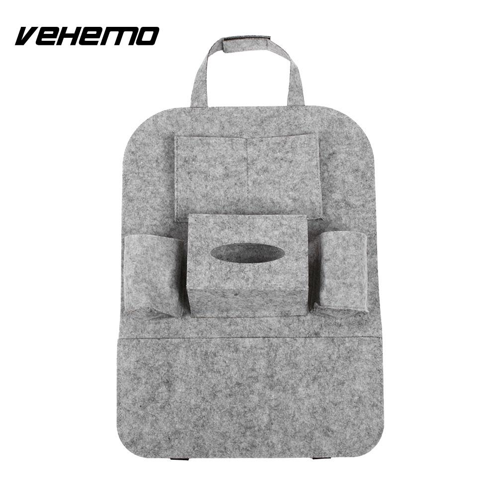 vehemo auto car seat storage bag car seat back ravel storage bag