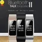 Умный talk band напоминатель отправить смс умный Браслет Шагомер фитнес трекер Твиттер push gps браслет для IOS Android Pk mi Band 4 - 5