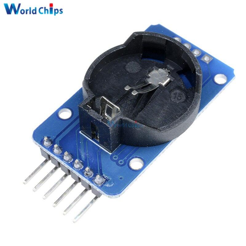 2 шт. DS3231 AT24C32 IIC точность RTC часы реального времени модуль памяти 3.3-5. 5 В для Arduino без Батарея новый оригинальный