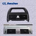 Хромированная консоль приборной панели обогреватель вентиляционное отверстие 1TD819728C для VolksWagen Touran 2004 2005 2006 2007 2008 2009 2010 2011 2015