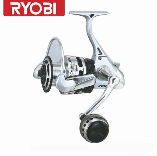 RYOBI fishing line reel 6+1BB 5.1:1TT POWER 8000 and Fishing King 6000/8000 spinning reel full metal lure fishing wheel 22lbs цены