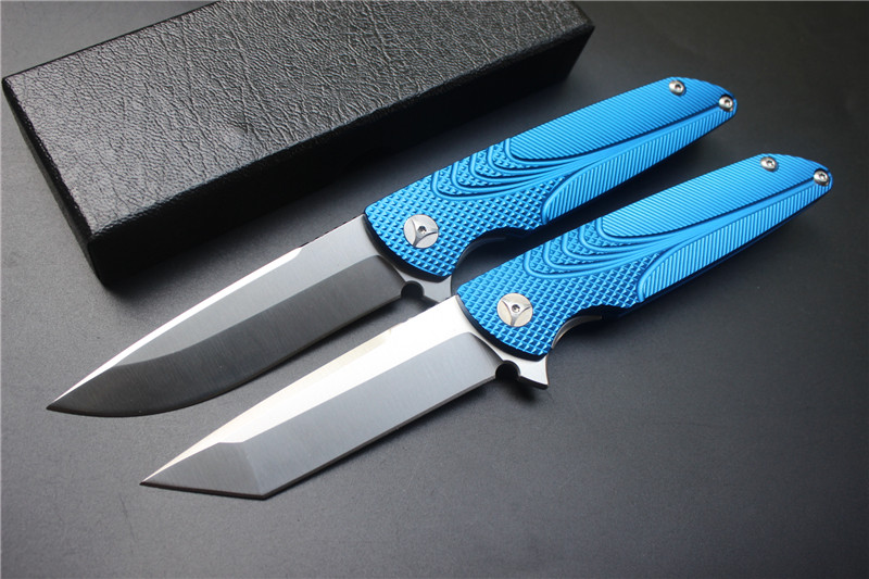 Free Shipping,Brian Nadeau Tactical Survival Typhoon Flipper Bearing Knife D2 Stain Blade Blue Alu Sheet Handle,EDC tools hx small mercenary survival hunting knife d2 steel blade fixed blade knife straight camping knives multi tactical hand tools